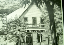 Painting of store from 1976