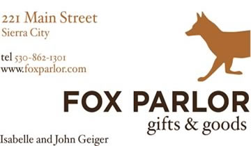 Fox Parlor Gifts & Goods